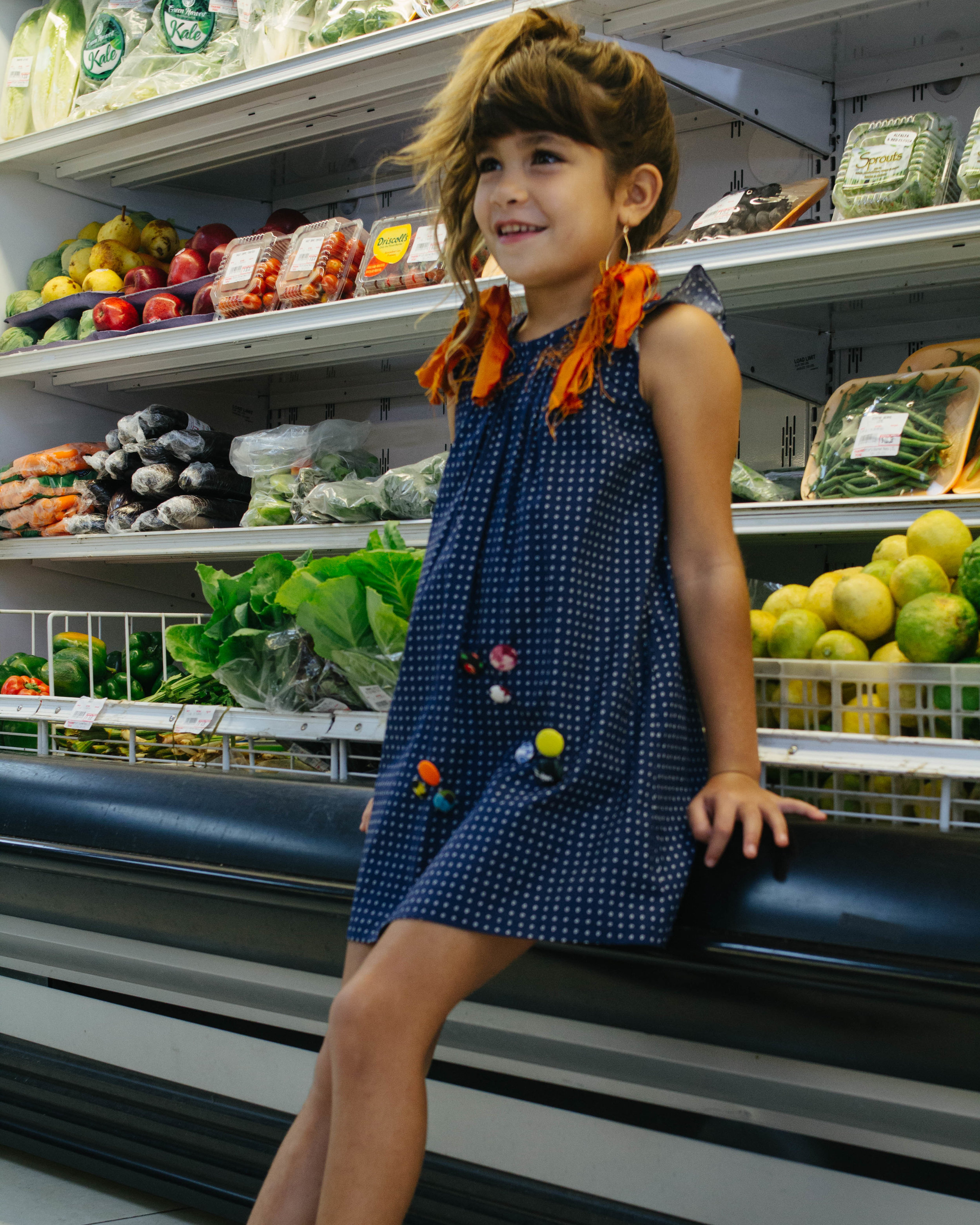 Kids Line by SewLisa and Earrings by Willow & Oak