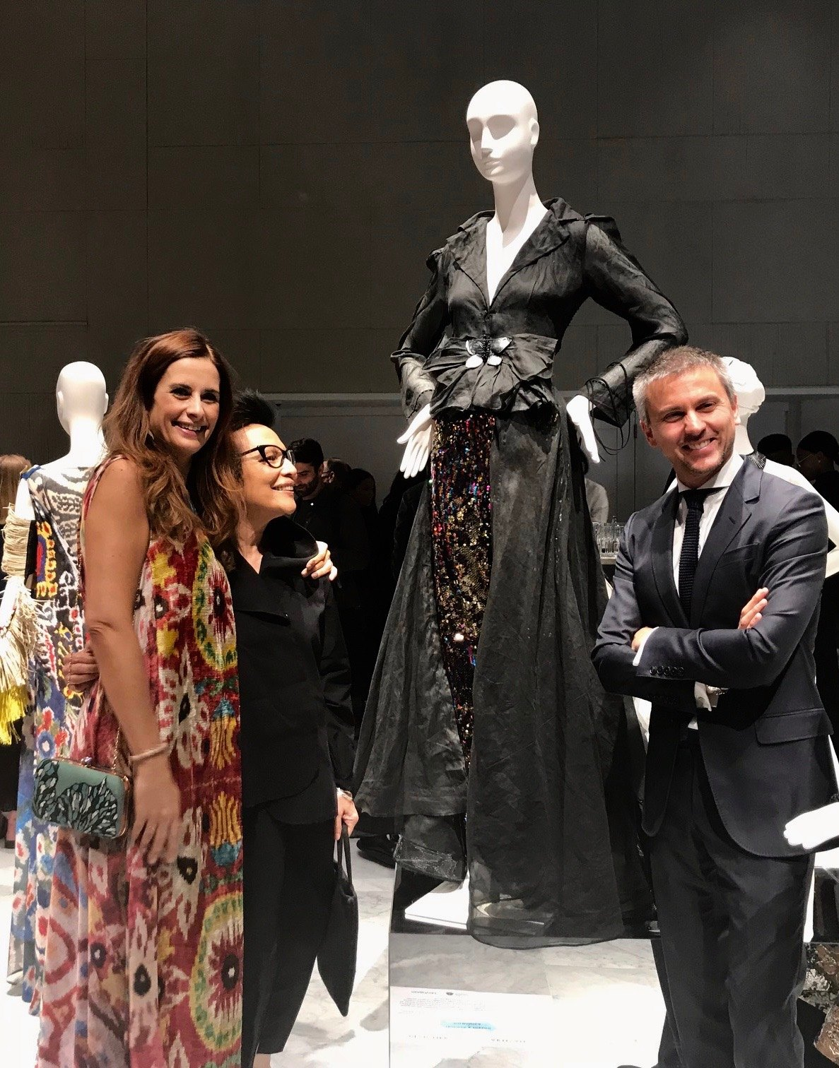 September 2018  The Moth landed at the FIT Museum (Fashion Institute of Technology).  Thank you to Livia Firth of Eco Age & Ulric Jerome of  MATCHESFASHION.COM  for hosting me.  -M.
