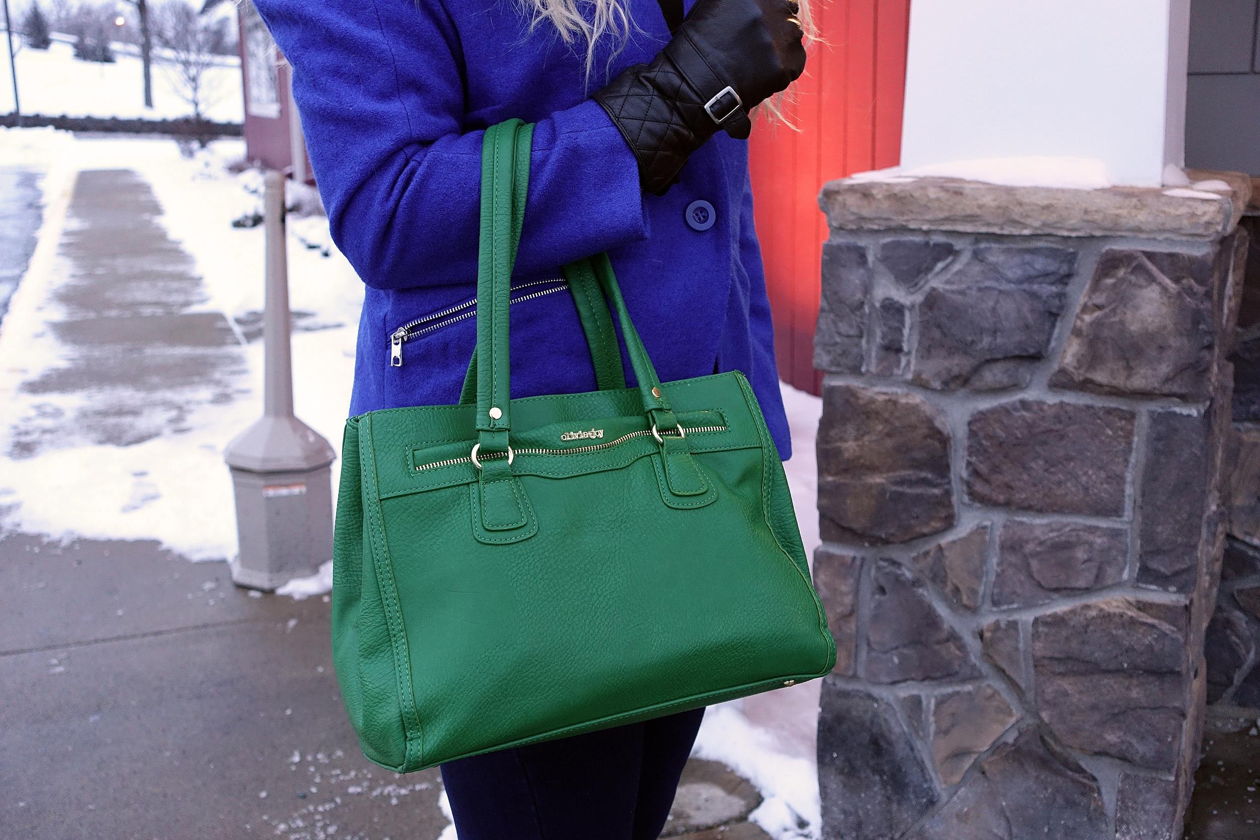 Handbag is Oliva+Joy. Find one you love here:  http://www1.macys.com/shop/handbags-accessories/olivia-and-joy?id=54526