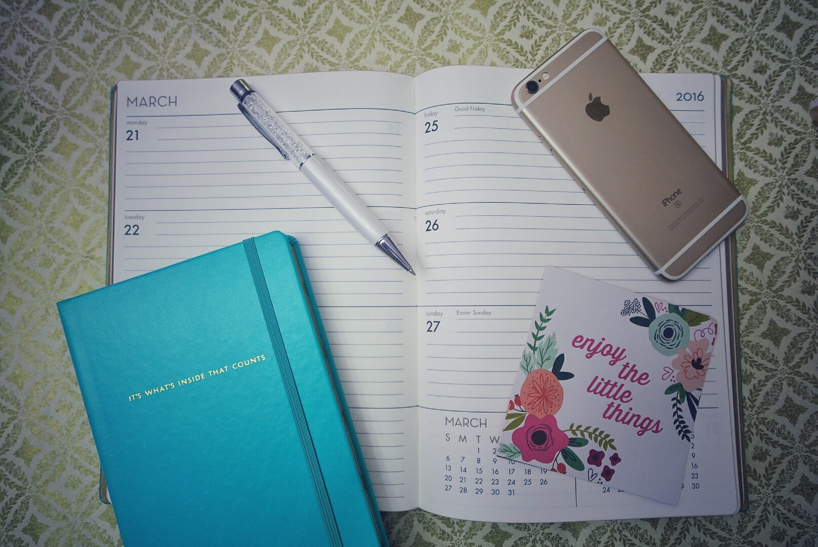 Get the goods here: Notebook & Planner