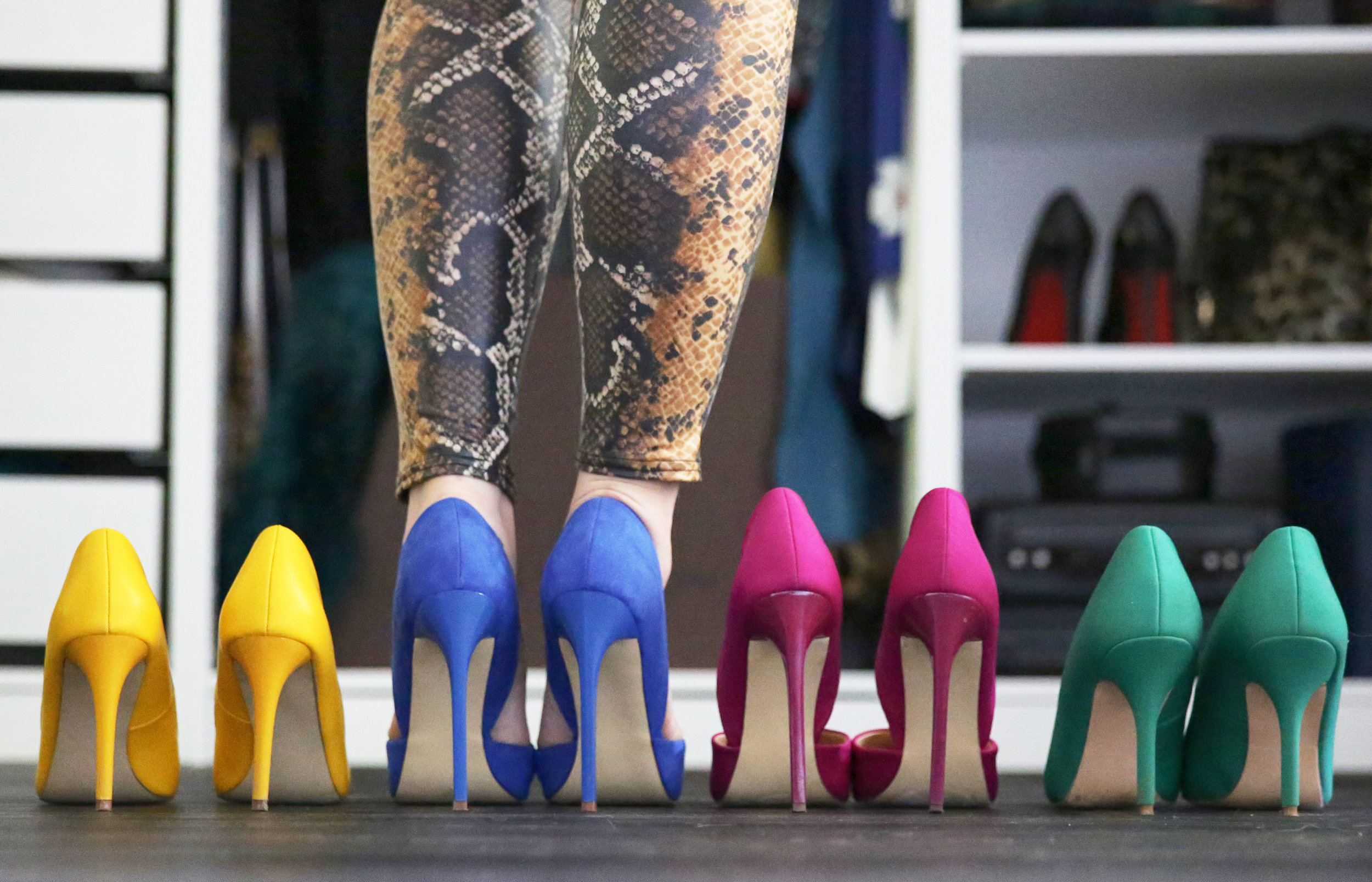 All of these shoes are from Just Fab.