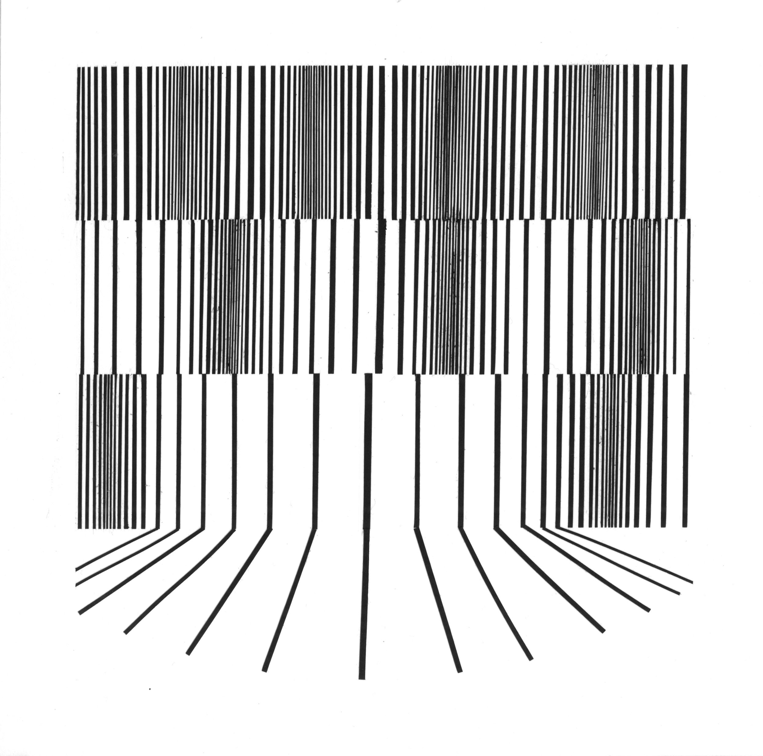 "2D Design - cut paper, 12""x12"""