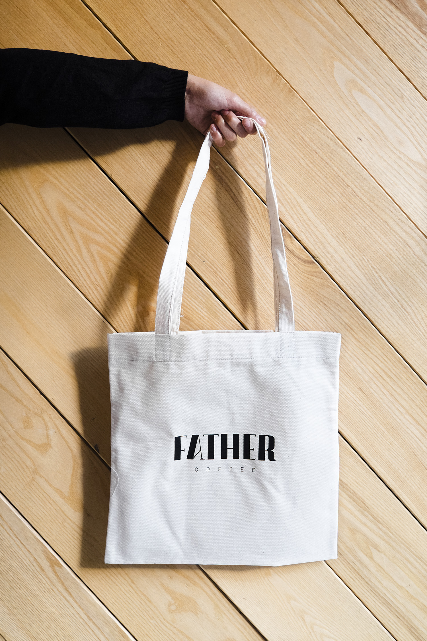 Father Coffee Fresh to death tote