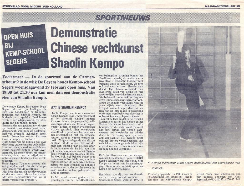 1984-02-27_Streekblad_voor_Midden_Zuid-Holland_Demonstratie_Chinese_Vechtkunst_Shoalin_Kempo.jpg