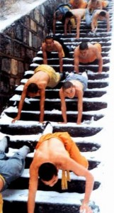 training met monnikken