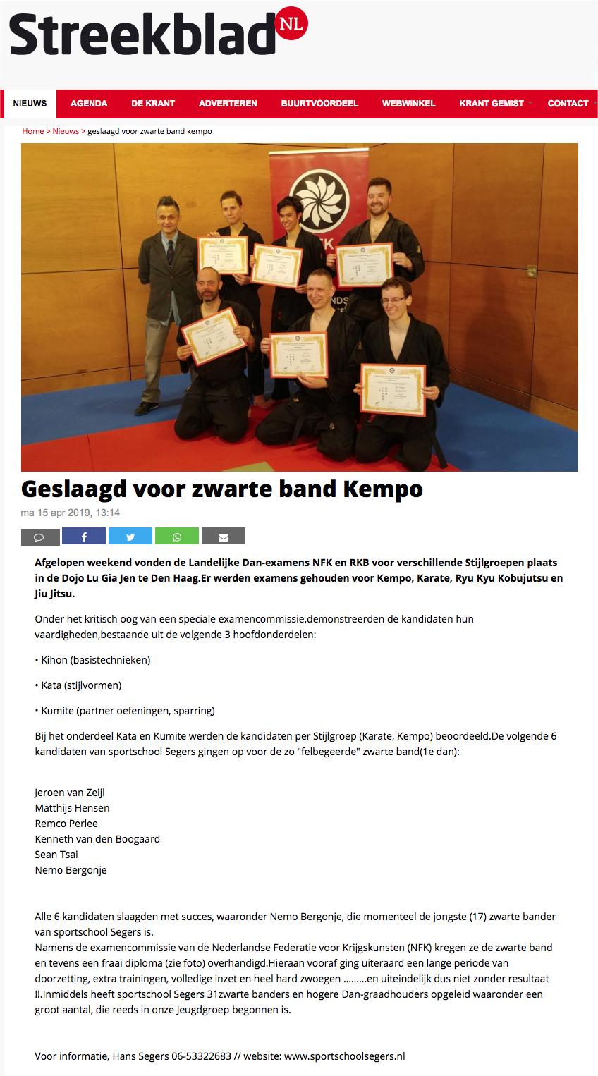 2019-04-15 Streekblad Geslaagd voor Zwarte Band Kempo Edit.jpg