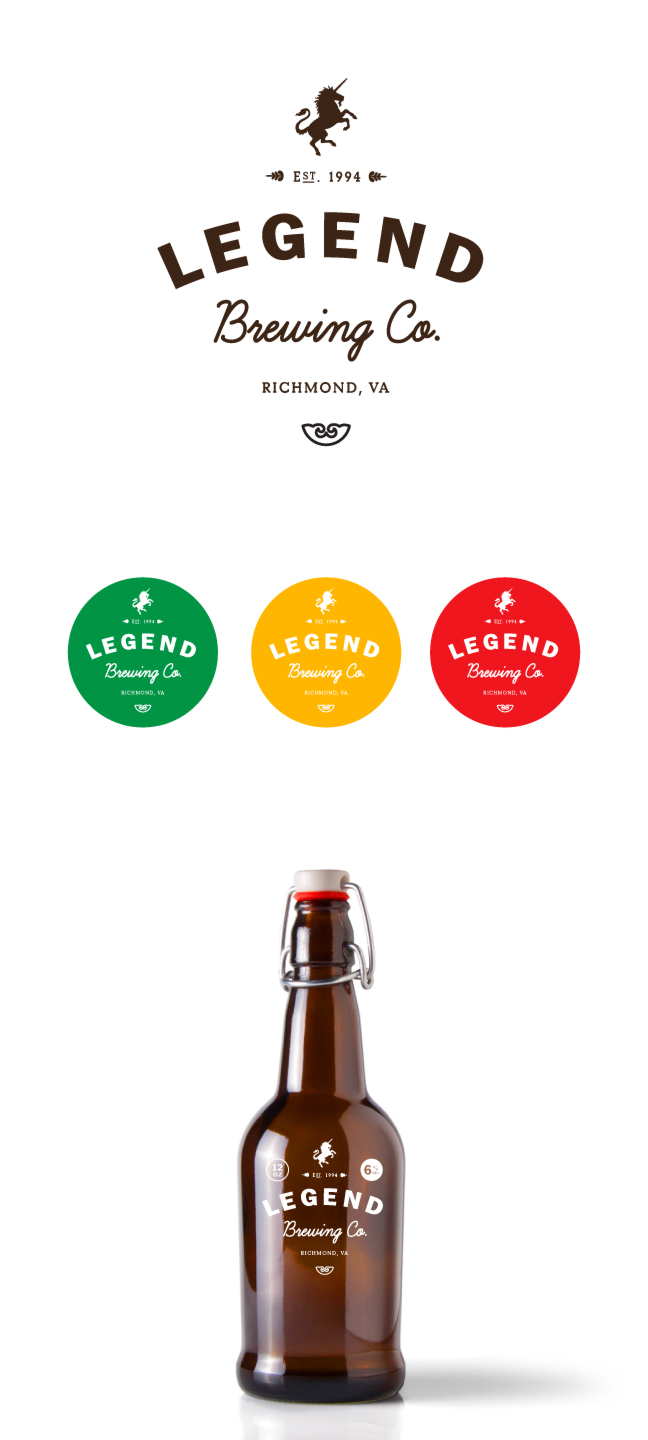 New spec identity for Legend Brewing Co.