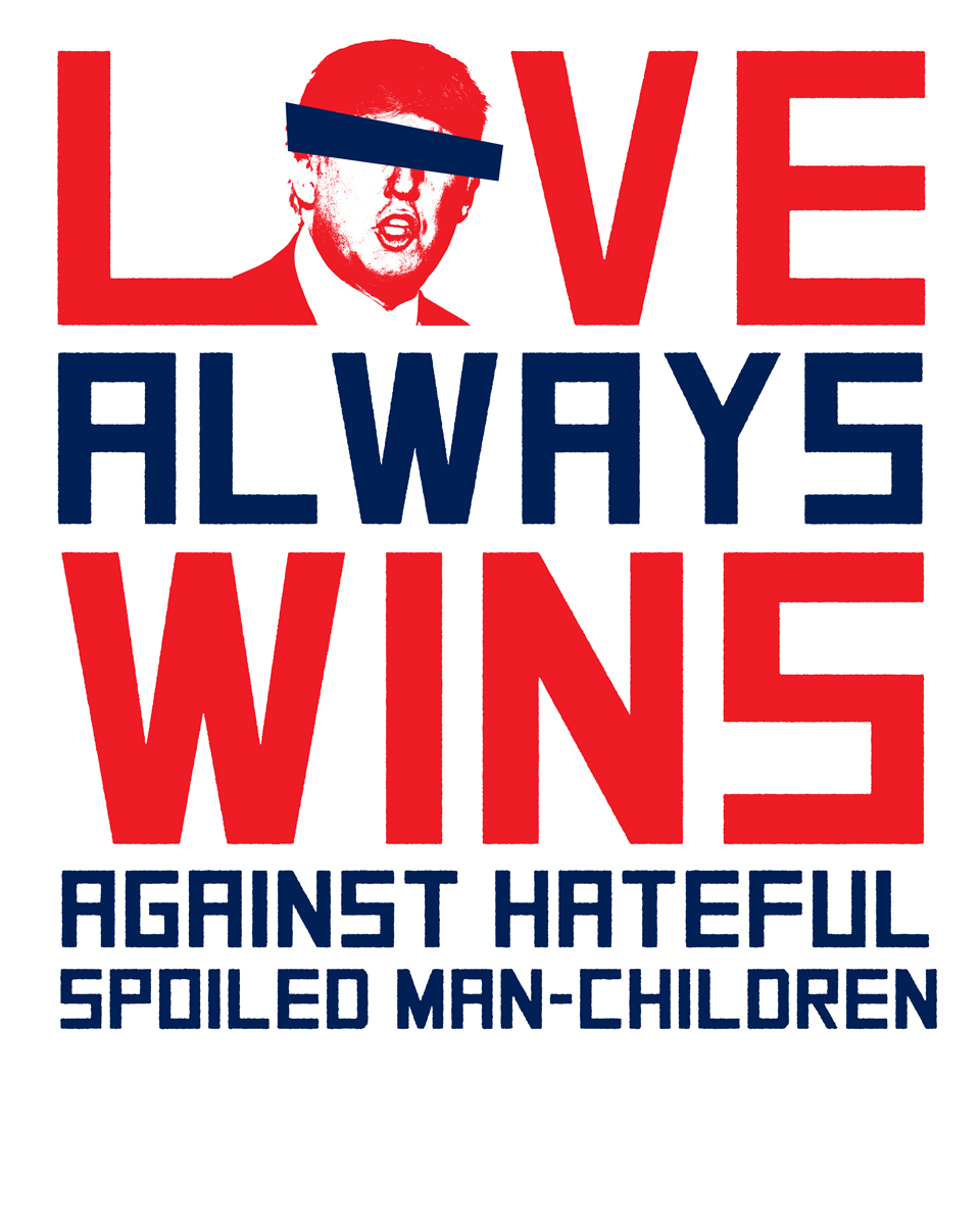 """Spoiled Man-Children"" Women's March Poster"