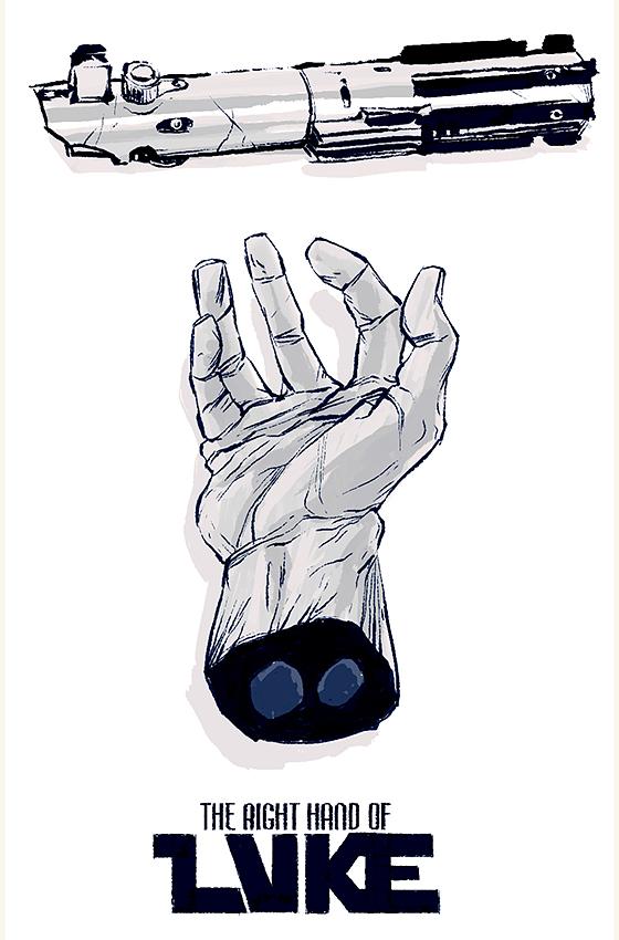 The Right Hand of LUKE