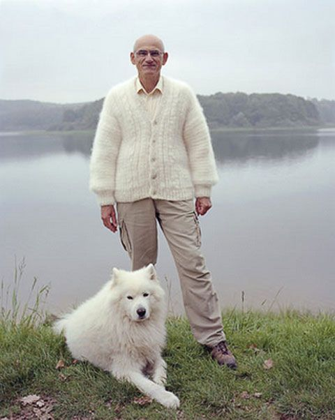 You COULD make a sweater out of his fur like this guy...