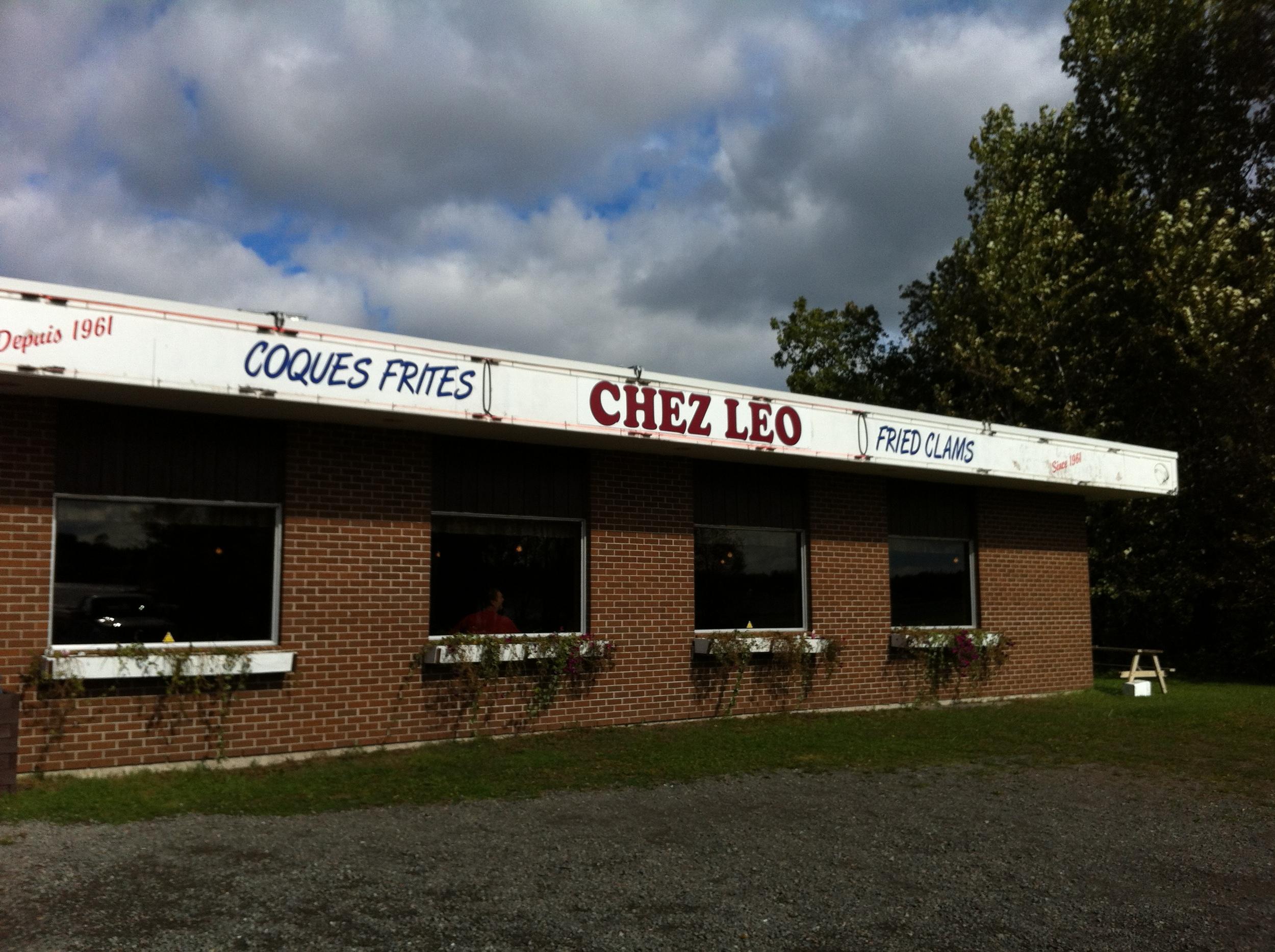 Chez Leo's fried clams