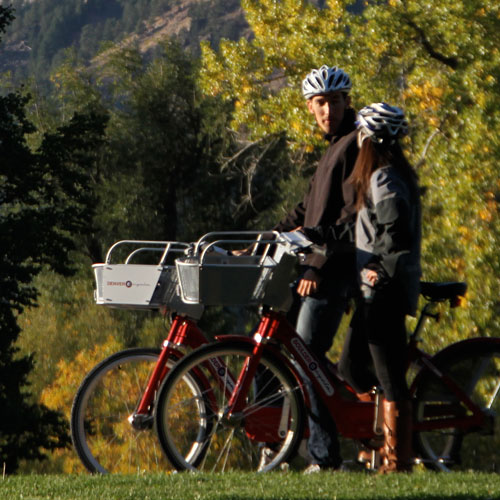 Easy access to Boulder's  300+ miles of bike ways