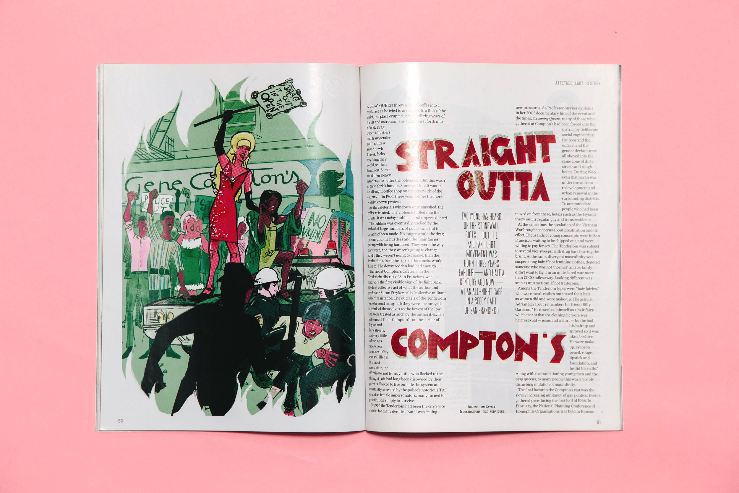 STRAIGHT OUTTA COMPTON'S - FULL PAGE AND THUMBNAILS