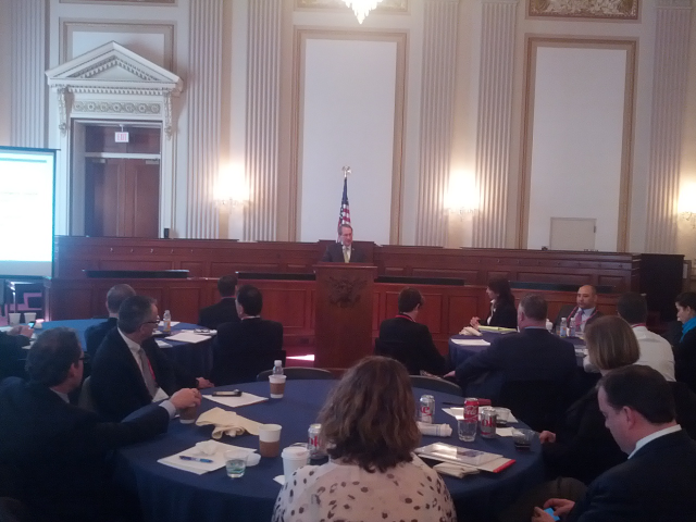 House Judiciary Chair Bob Goodlatte spoke with tech council leaders from around the country.