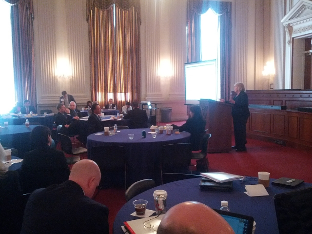 Congresswoman Zoe Lofgren addressed tech council leaders at annual fly-in.