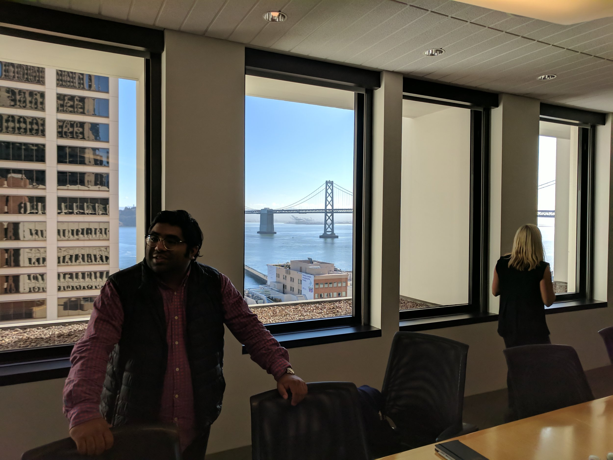 Our investor roundtable with Jaguar Land Rover's Tech Incubator took place at Orange Fab, with an unmistakably San Francisco feel to it.