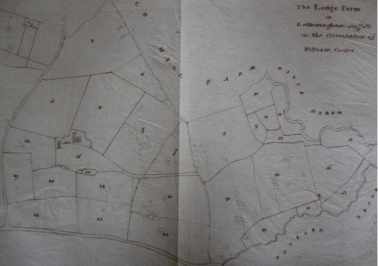 Fig.12 The Lodge Farm, occupier William Cooper (SROI, HD11.475/563)