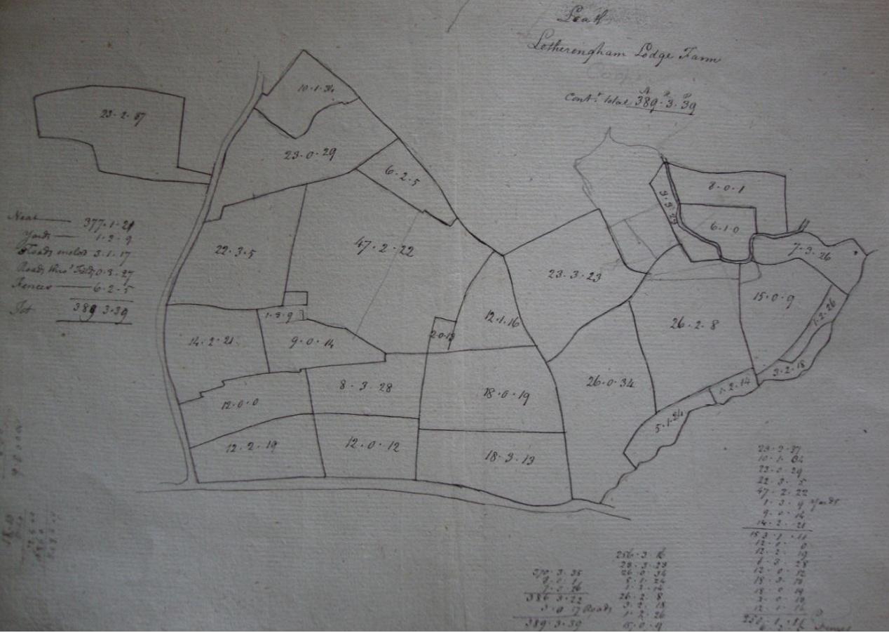Fig.13 Letheringham Lodge Farm (SROI, HD11.475/596)