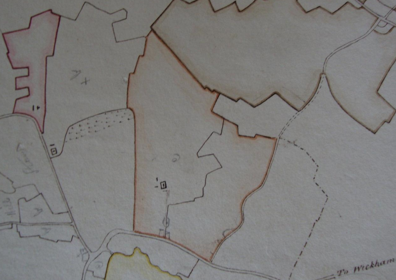 Fig.15 Land in the Parish of Letheringham (SROI, HD11.475/562)