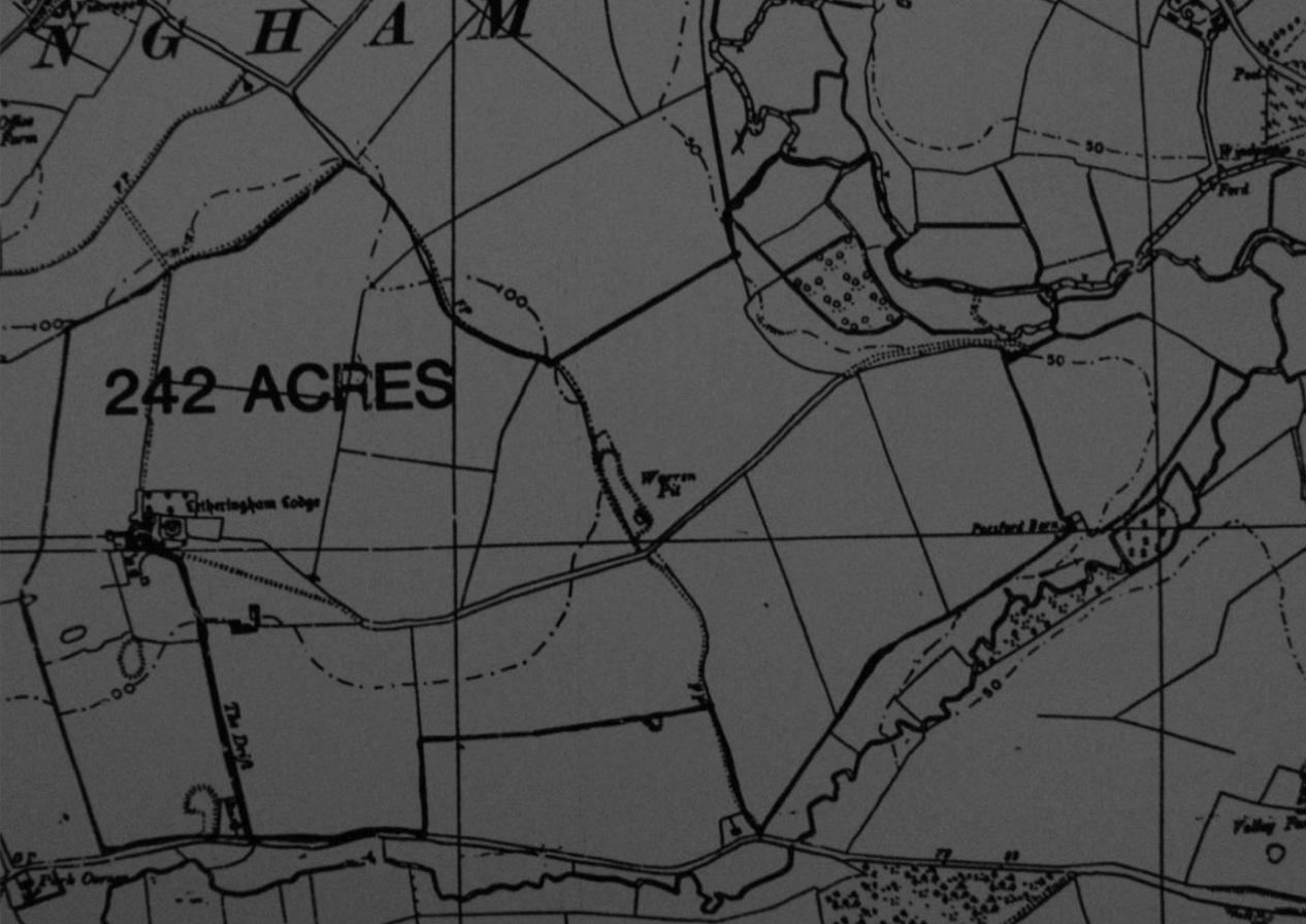 Fig.17 Letheringham Lodge, 1987 planning appn (SCDC, C/9605)