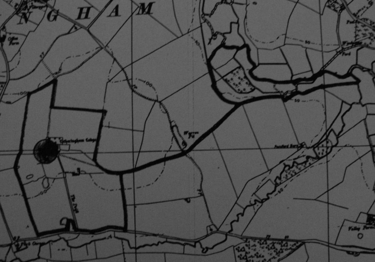 Fig.18 Letheringham Lodge, 1991 planning appn (SCDC, C/91/0962)