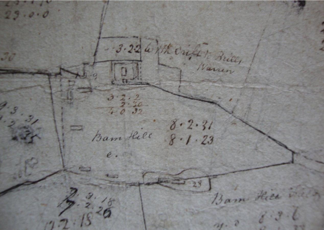 Fig.23 The Lodge Farm, 1790s (SROI, HD11.475/103)