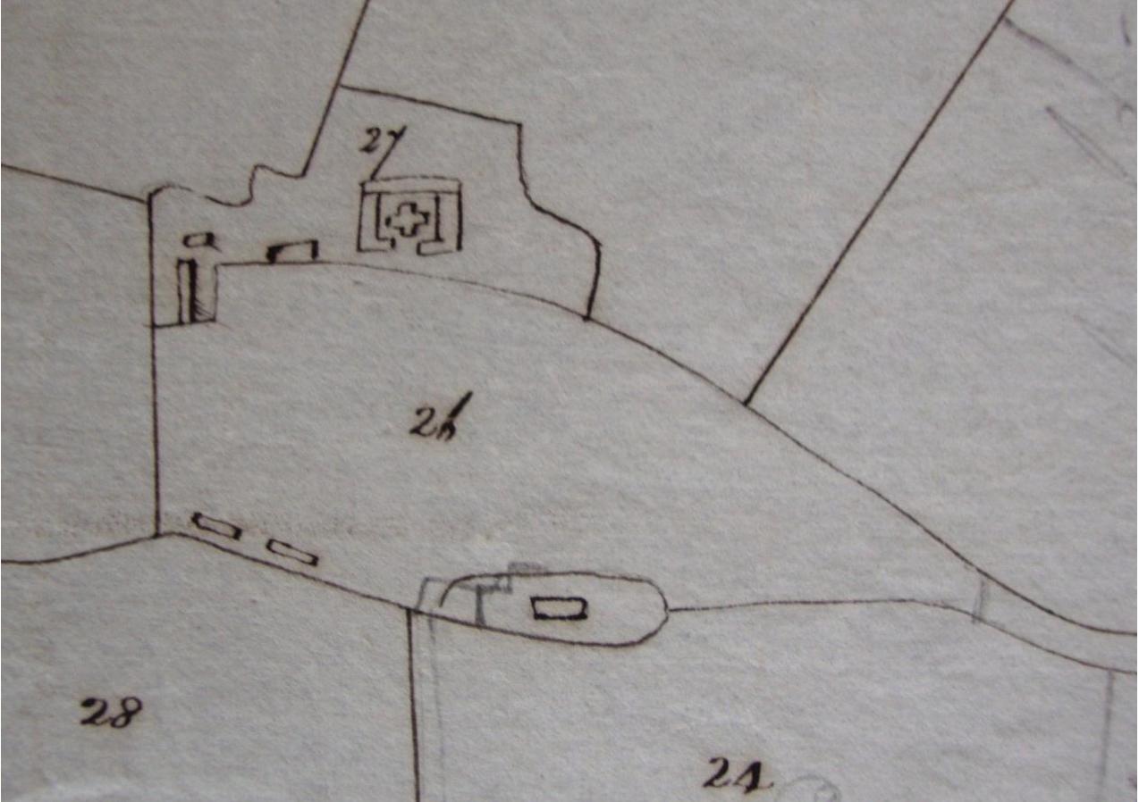 Fig.24 The Lodge Farm, occupier William Cooper (SROI, HD11.475/563)