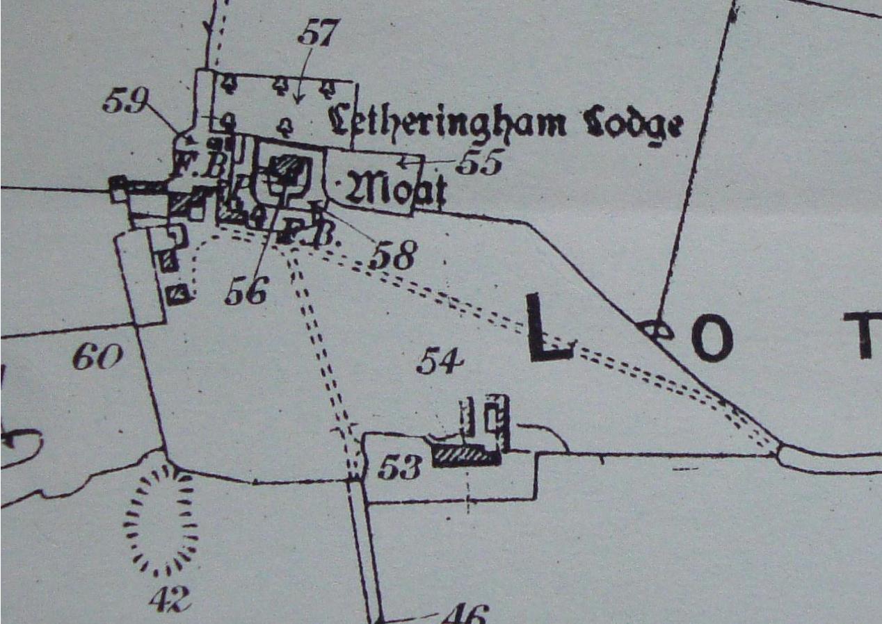 Fig.29 Letheringham Lodge, lot 35, 1919 (SROI, f SC142/1)