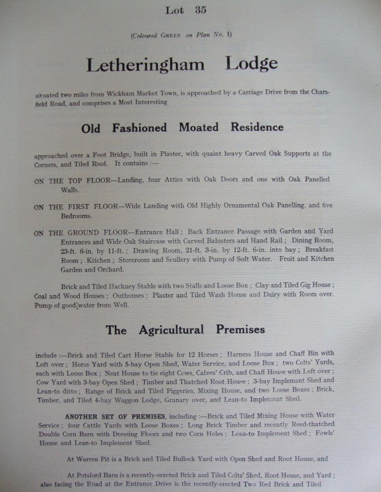 Fig.45 Easton Park Estate sale catalogue,1919 (p.54)   (SROI, f SC142/1)