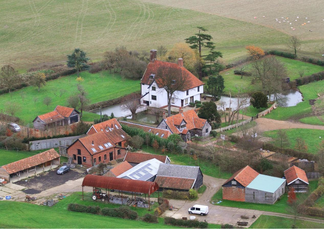 Fig.59 View of Letheringham Lodge and adj. building group from SW