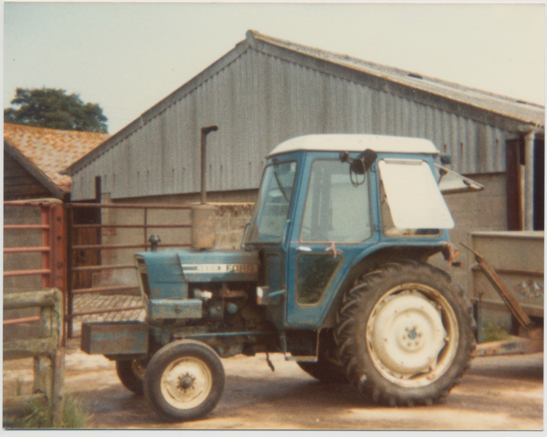 The farmyard in the early 70's