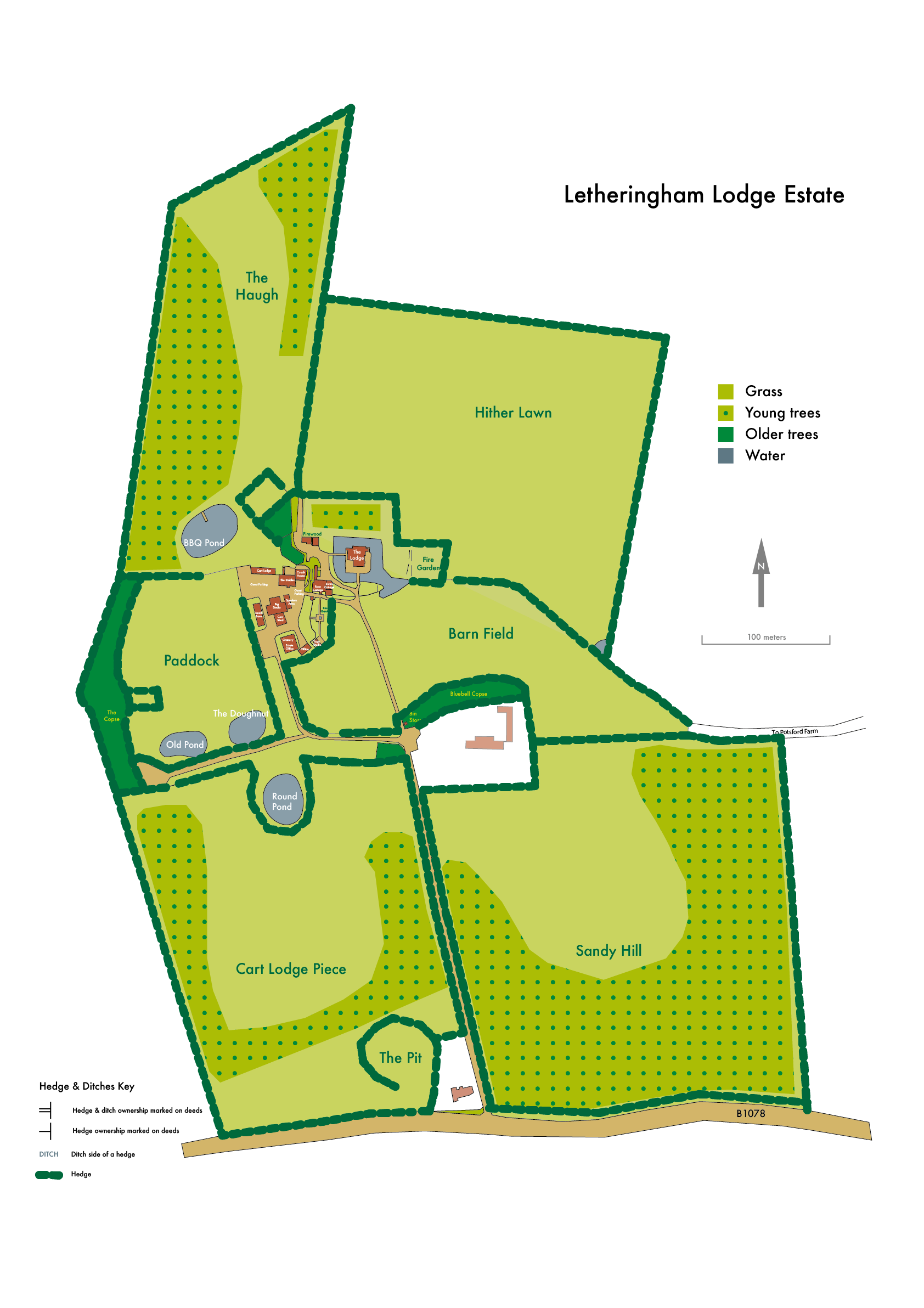 Plan of our 75 acre grounds