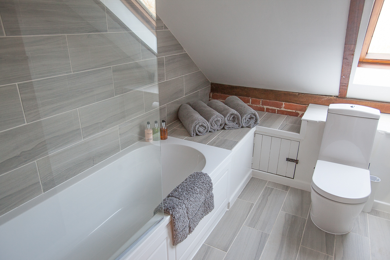 Recently refurbished bathroom