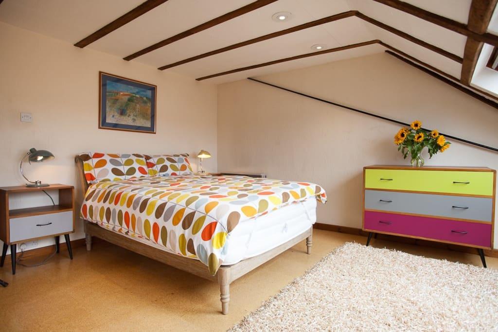 High end mattress and quality linen