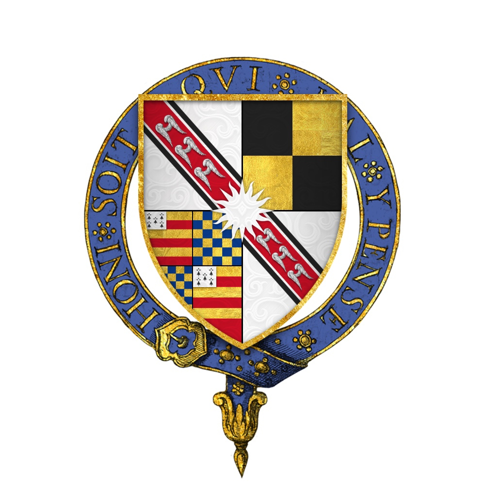 Coat of arms of Sir Richard Wingfield of Letheringham, son of Sir John Wingfield who built the Lodge