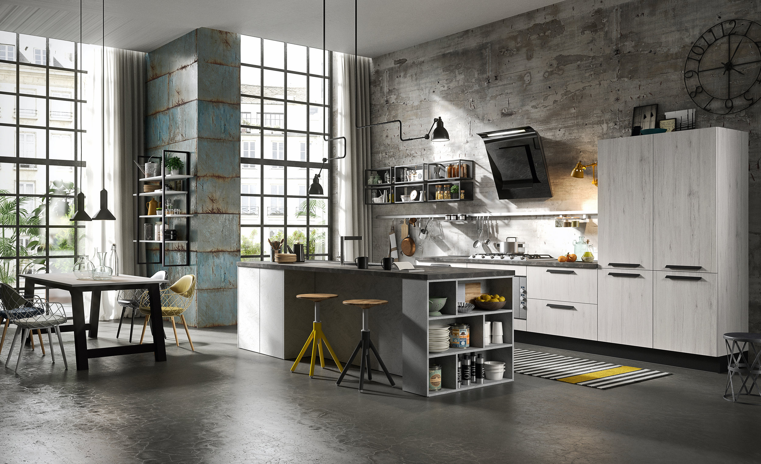 KITCHEN - Our expertise and Italian craftsmanship offers innovative, modern high-end kitchens custom-made in Italy. We are also experts in transitional kitchens, blending the timeless of traditional kitchens with the sleek and contemporary feel of modern kitchens.