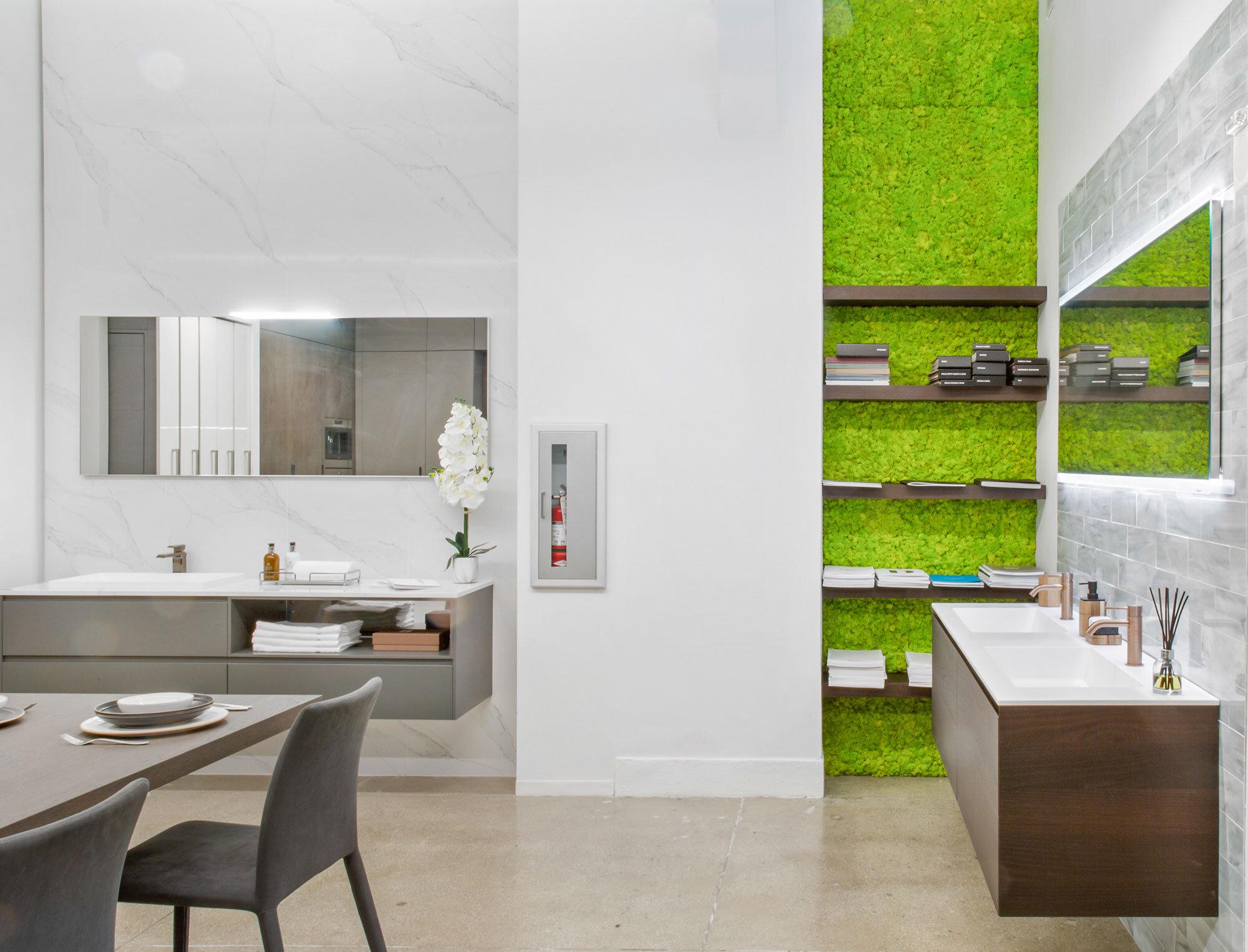 amusing kitchen showroom new york city   Modern kitchen and bath showroom   NYC — IRP Designs