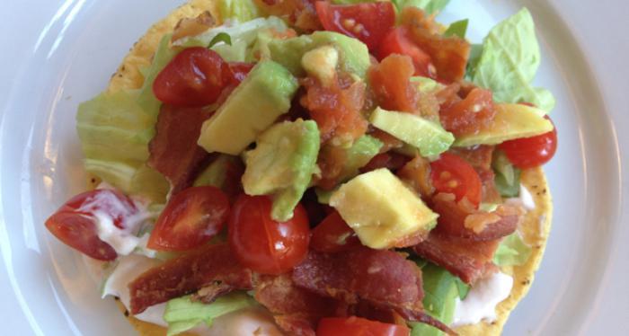 foodseum blt tostada