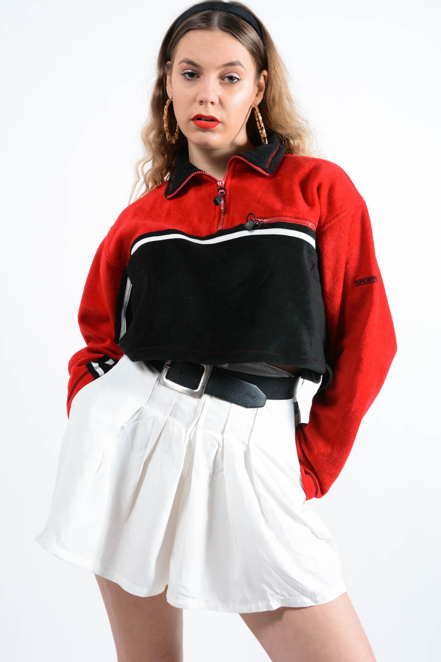 vintage fleece tops online