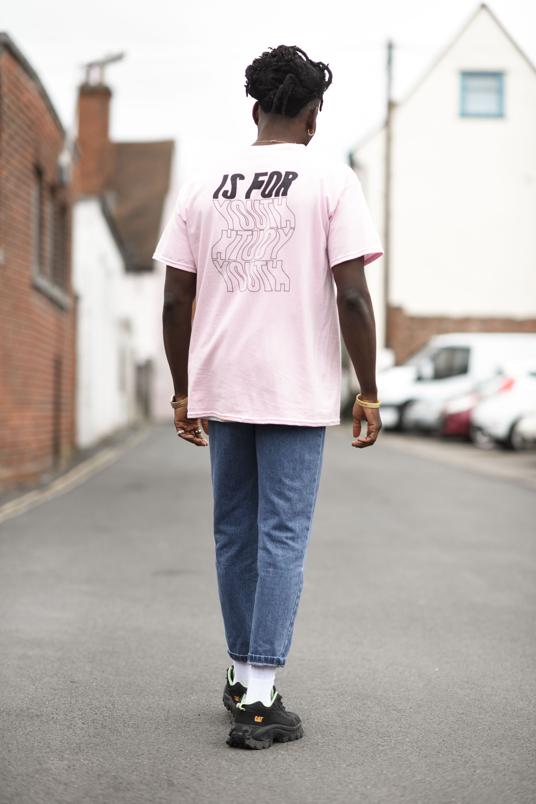 Pink YIFY Wavey tee