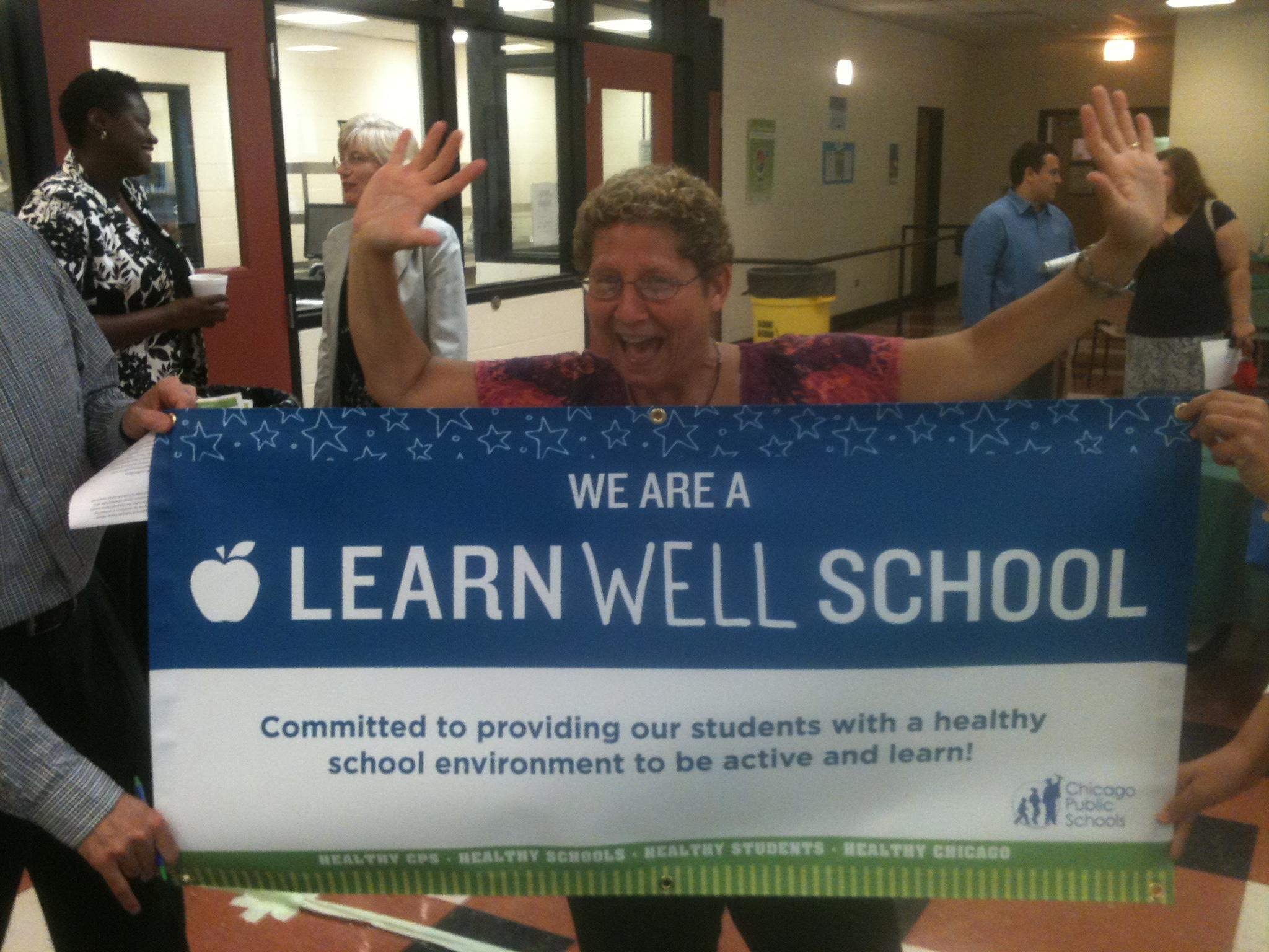 Lori Klein-Blazek lead Jungman Elementary to becoming LearnWELL Certified!