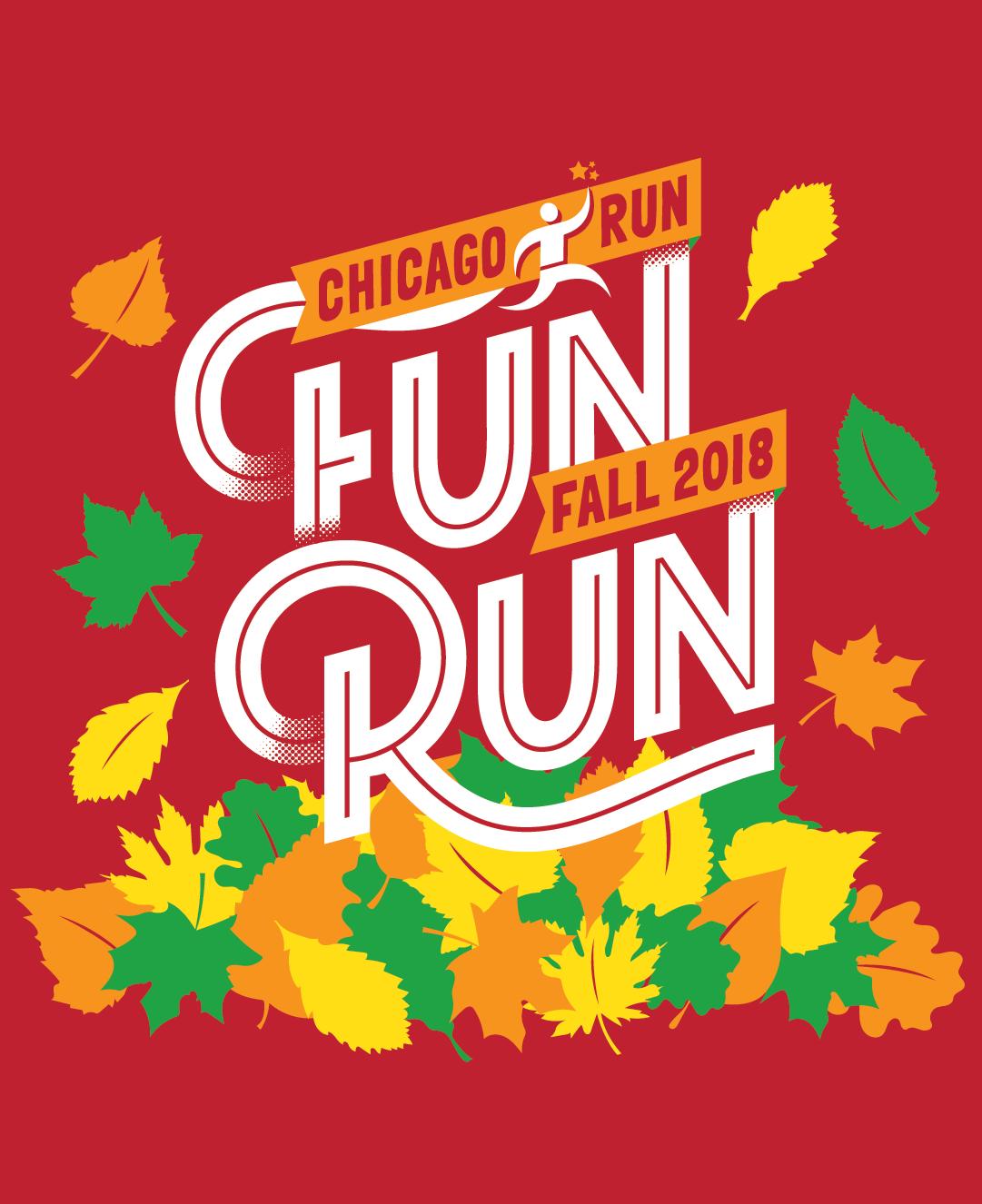 2018 Fall Fun Run T-Shirt