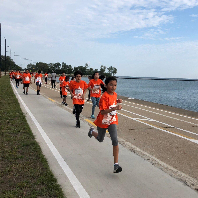 Running Mates Fall Field Trip, CARA 'Go Run at 63rd Street Beach - Sep 2019