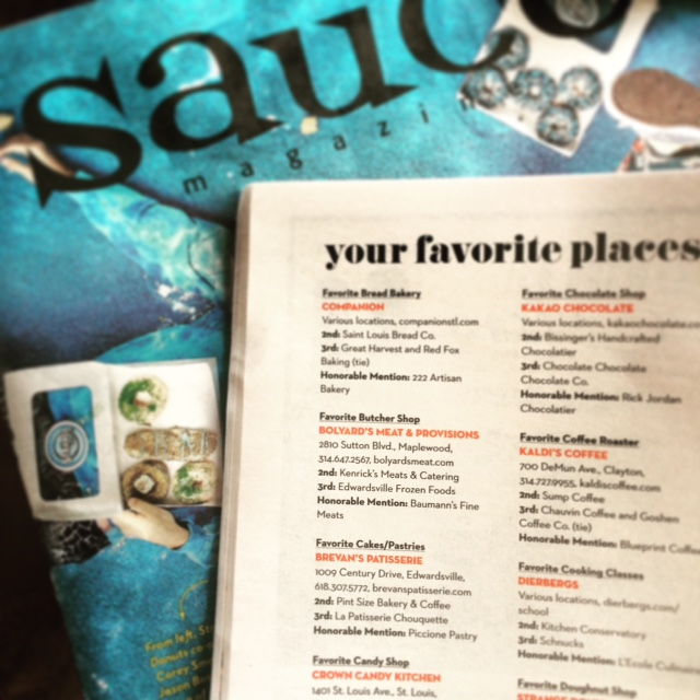 Sauce Magazine: July 2015  Favorite Butcher Shop-  Click here to see the whole List