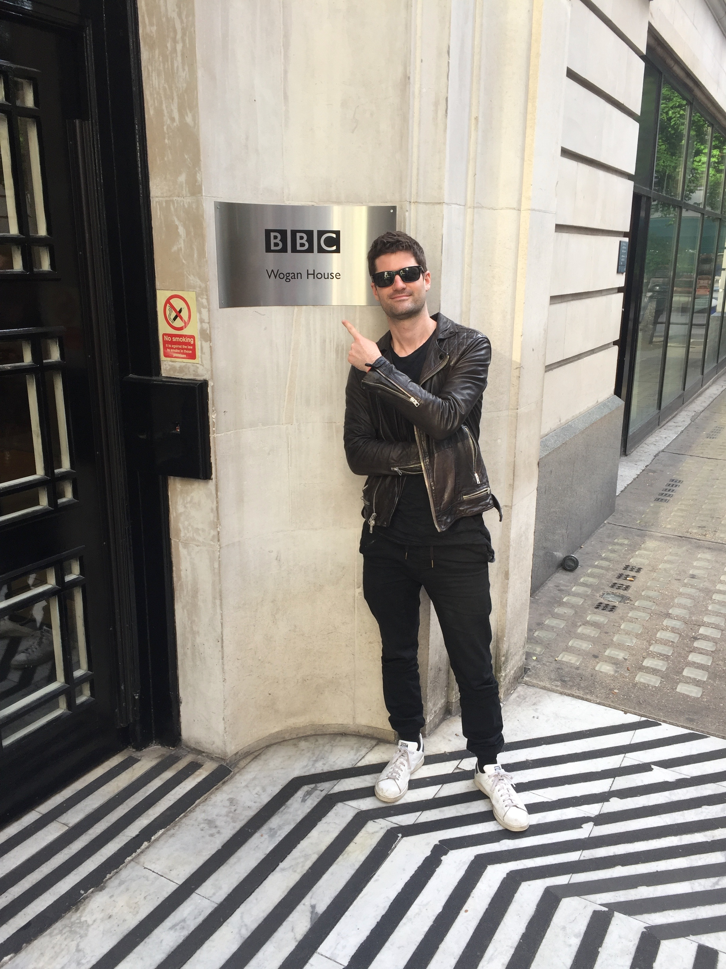 Performing on BBC Radio 2 in London England