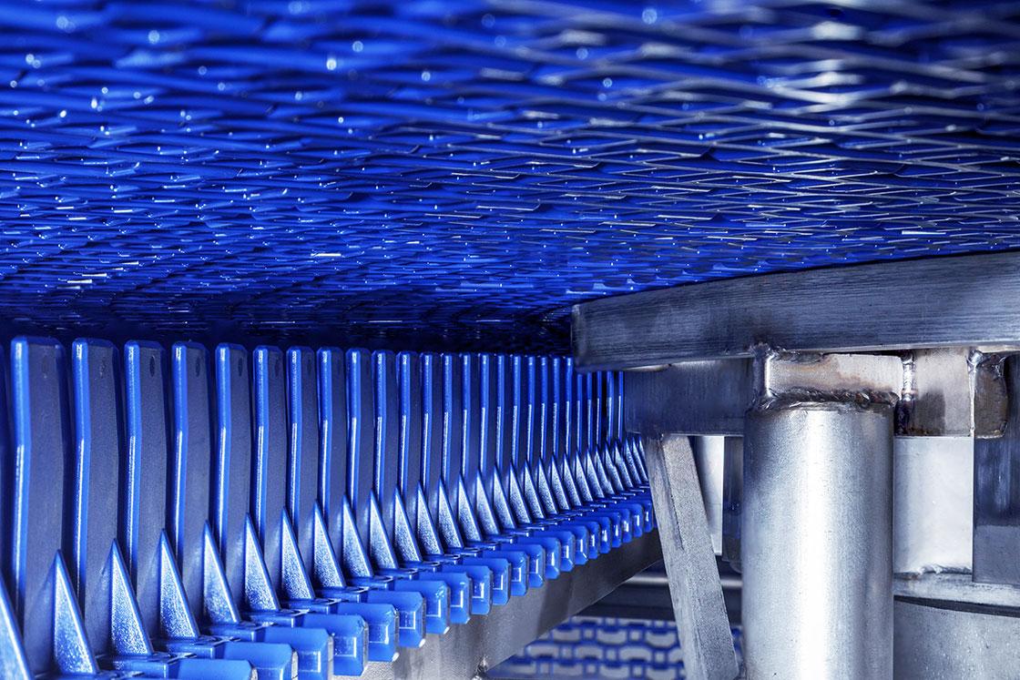 fps spiral interior hygienic belt design