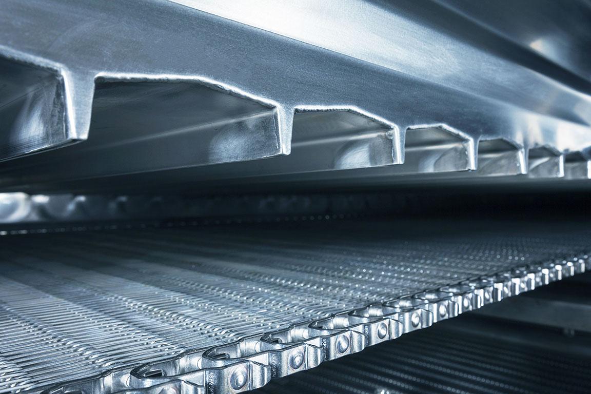 fps impingement custom conveyor belting