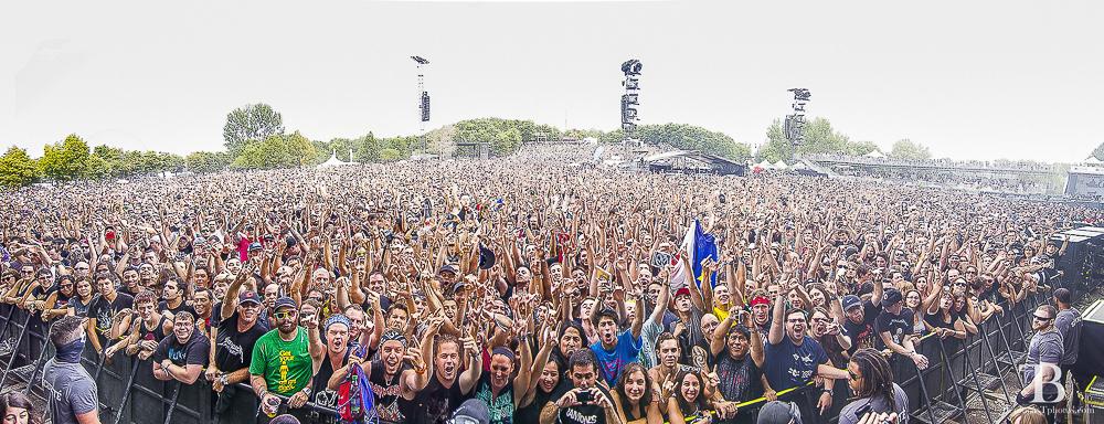 Heavy montréal crowd