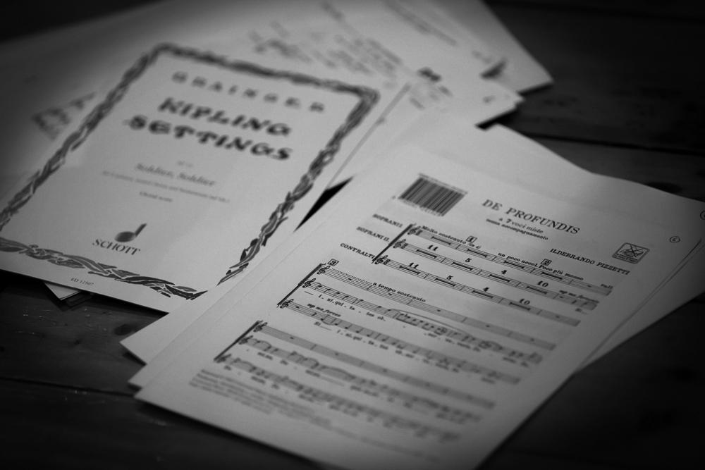 Sponsor a Score - Polyphonic Voices