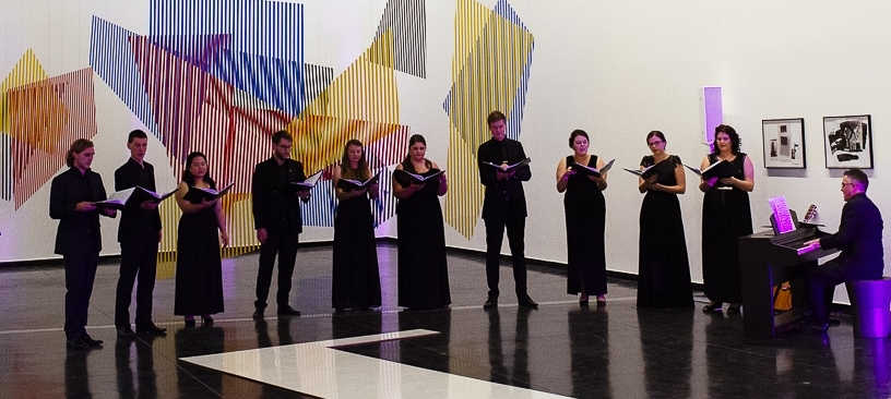 Singing at the Australian Centre for Contemporary Art